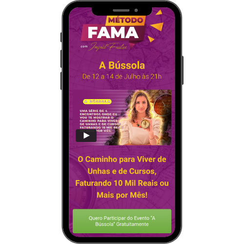 Yamídia Ecommerce Ingrid Freitas Metodo fama oficial a bussola
